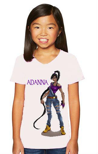 Kids youth shirts Adanna