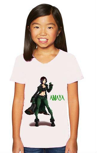 Kids youth shirts Amaya