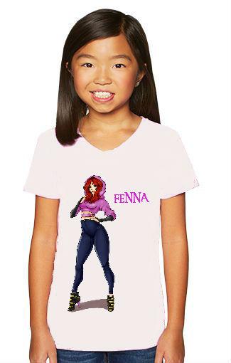 Kids youth shirts Fenna