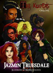 The Keepers Origins female superheroes aza comics