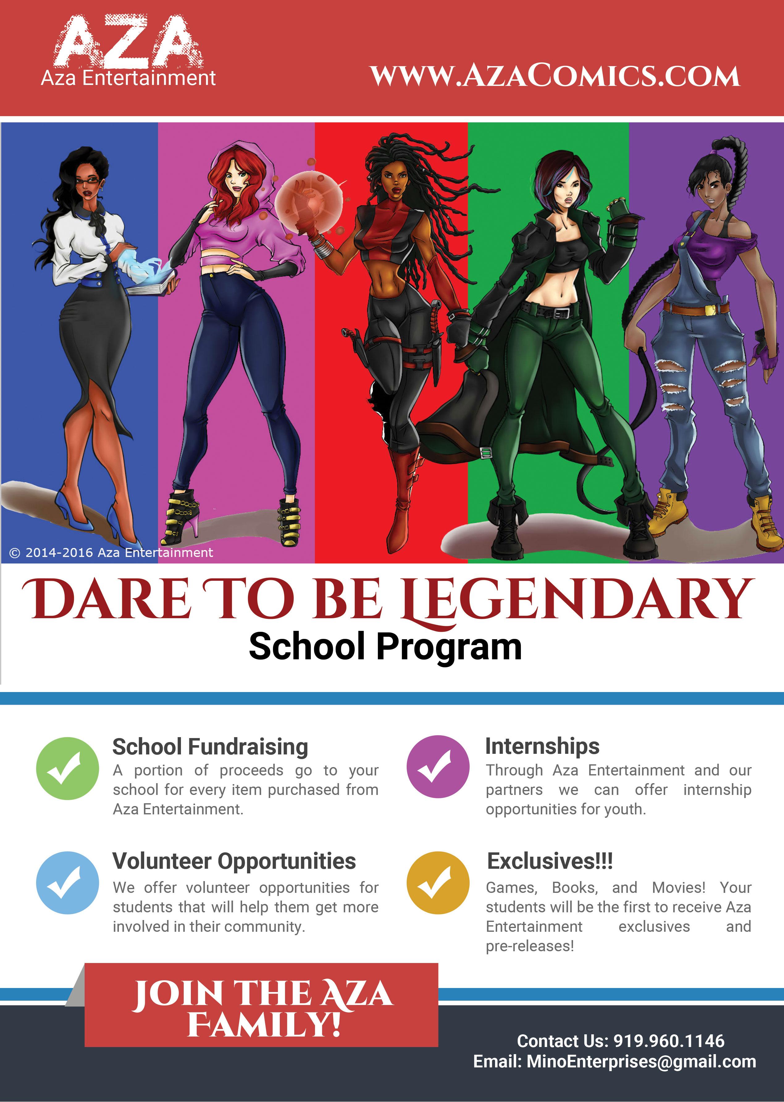 Aza-Entertainment-School-Program