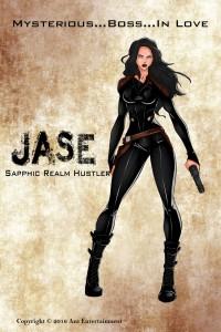 Jase lesbian superhero aza comics