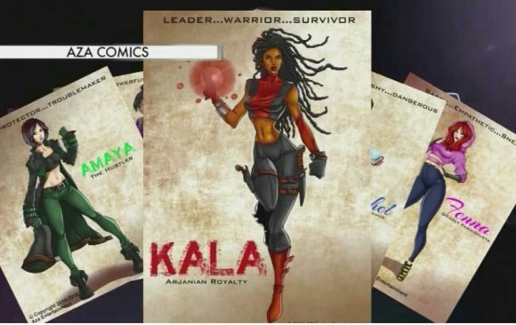 WRAL: Durham Woman Creates Comic With Empowering Message