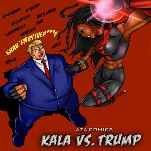 Aza Comics Donald Trump
