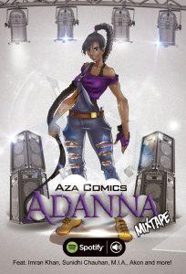 Aza Comics Mixtape Adanna