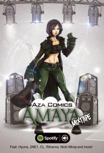 Aza Comics Mixtape Amaya