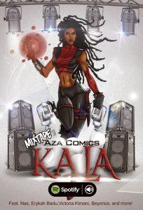 Aza Comics Mixtape Kala