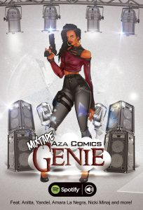 Aza Comics Mixtape Genie