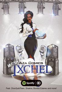 Aza Comics Mixtape Ixchel