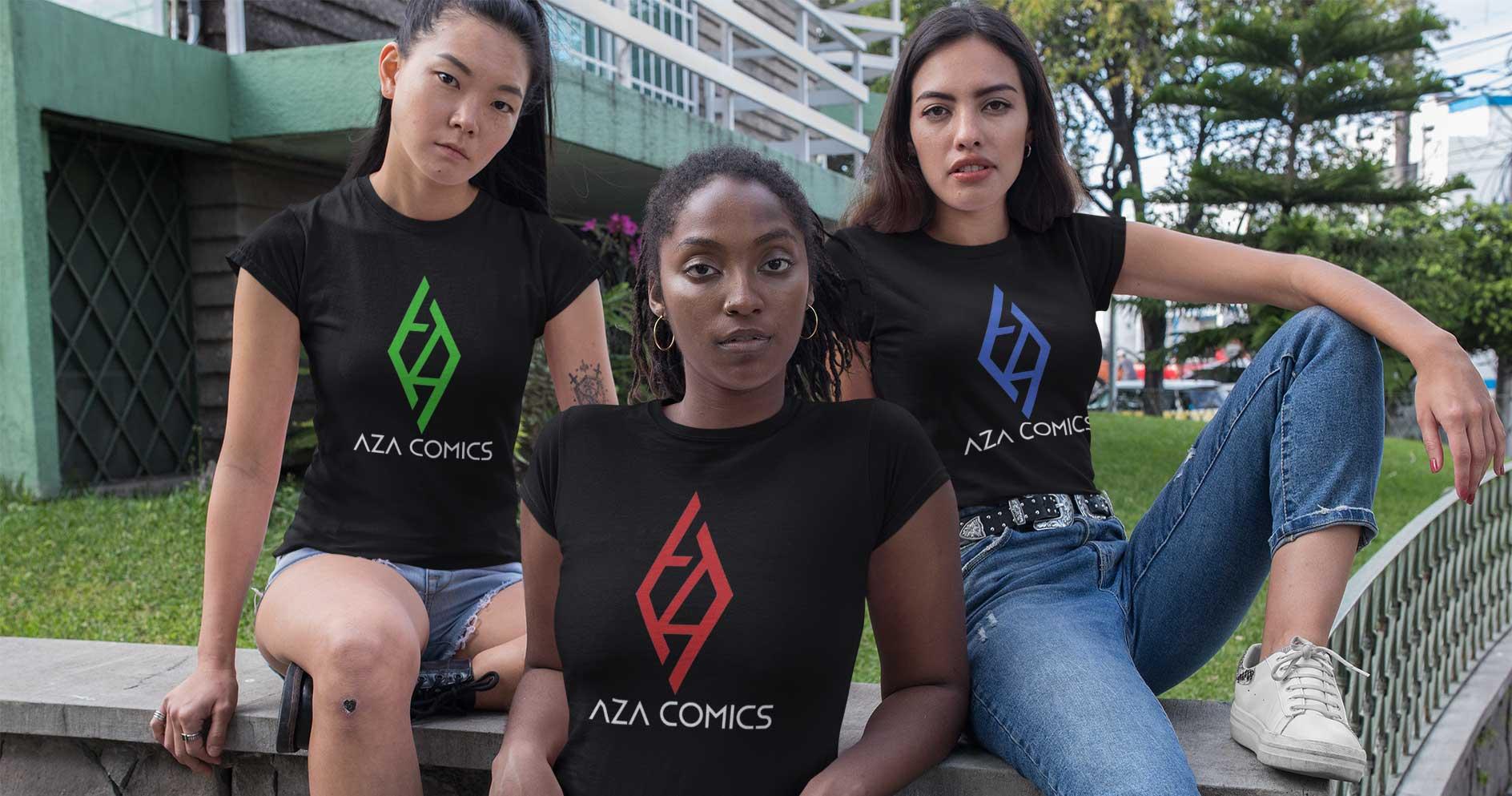 mockup-of-three-women-wearing-t-shirts-outside-32051-crop